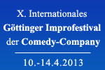 X. Internationales Göttinger Improfestival der Comedy-Company