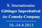 X. Internationales Göttinger Improfestival der Comedy-Company
