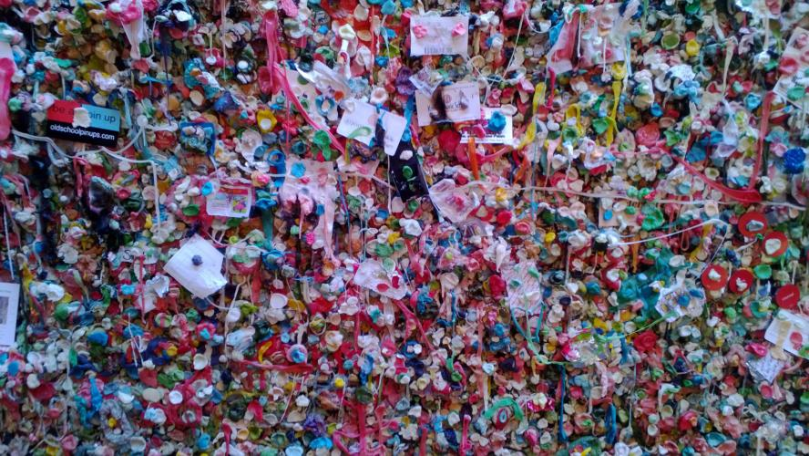 The Gum Wall / Foto: Claudia Hoppe