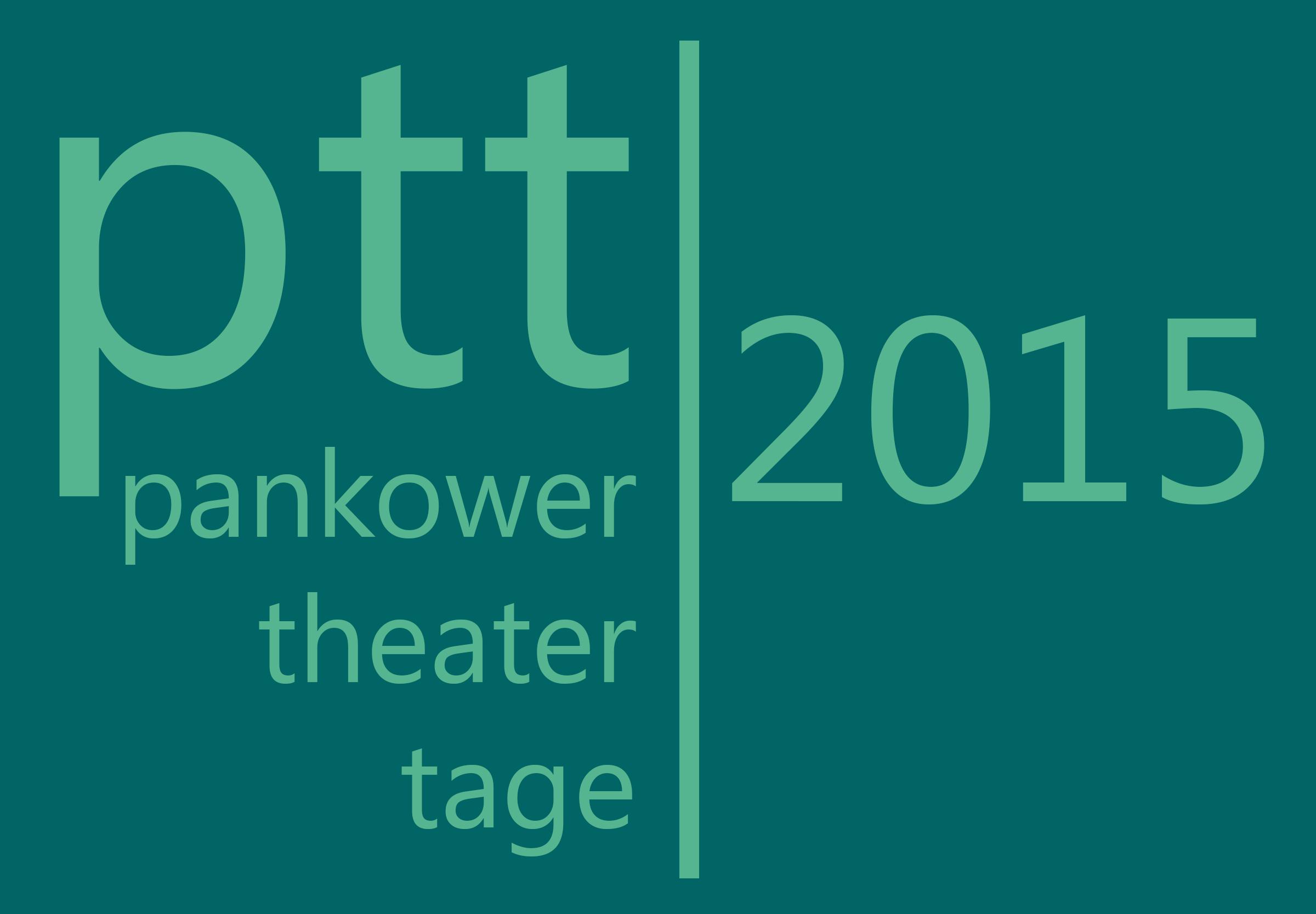 Logo Pankower Theater Tage