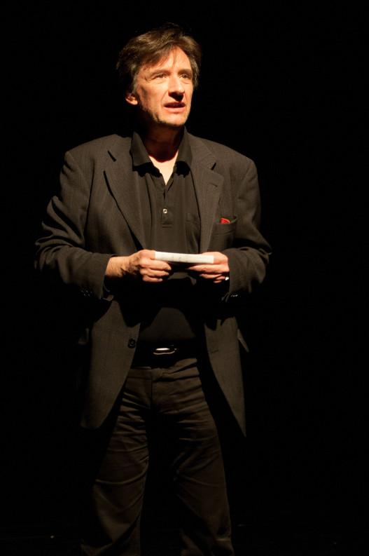 Rudy Redl überrascht das Publikum mit Sci-Fi / Foto: Sören Boller