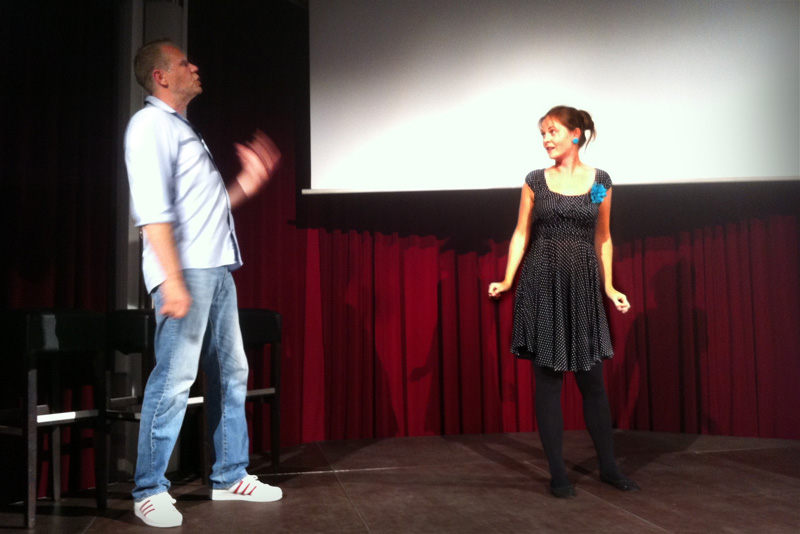 JUST! IMPRO - Film Dubbing Show (Fotos: Julia Eckhoff)