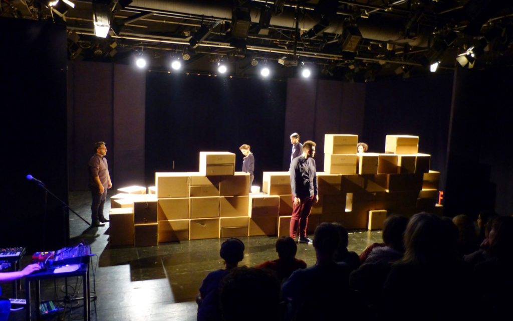 Impro 2018 - Our lives: Walls