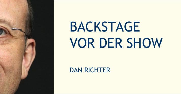 Dan Richter Backstage